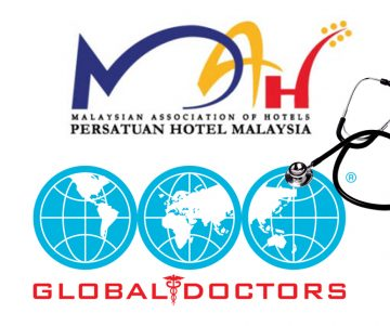 """Press release from MAH The Malaysian Association of Hotels (MAH) today signed a Memorandum of Understanding (MoU) with Global Doctors Malaysia (GDM), a private healthcare provider to provide a series of medical and healthcare support to MAH member hotels across the country. The MoU will take immediate effect with GDM extending health, preparedness and community health advisory to hoteliers, with an added option of a complete corporate health solution. Part of the highlight of the MOU includes current preparedness advisory supporting Malaysian hotels in dealing with the spread of the Covid-19 novel coronavirus, ensuring hotels are safe for tourists. """"While MAH had been actively supporting member hotels since the very beginning of the situation, we want to further enhance hotels' preparedness with professional healthcare support and Global Doctors is the best partner to work with,"""" said Kamaruddin Baharin, President of MAH. GDM's medical services covers primary and secondary care, ambulatory care, emergency medical services, vaccination clinics, corporate healthcare management services as well as tertiary network referral services over its network of centres and clinics in Malaysia, China, Indonesia and Thailand. """"The tourism industry is susceptible to the impact of global health crisis first-hand. At Global Doctors Malaysia we advocate and adopt the policy of prevention is better than cure for both employees and hotel guests. """"We are delighted to collaborate with MAH, taking the initiative to mitigate health situations and minimize or even avoid negative impact to the tourism industry. Global Doctors is committed in providing the best medical services to MAH and its members,"""" said Dato Dr Sharifah Fauziah Alhabshi, Executive Chairman of Global Doctors Group. MAH also presented an update of hotel room booking cancellations to date, with over 157,000 cancellations so far, amounting to over RM66 million in losses of revenue. """"Although the cancellations reported so far a"""