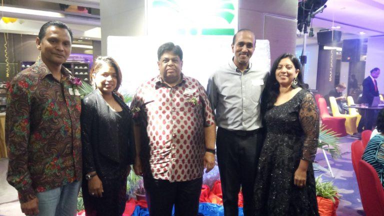Ex Mutiara Beach Resort staff gathering
