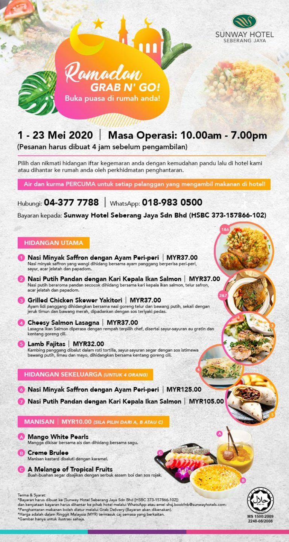 Sunway Hotel Seberang Jaya Ramadan Grab N' Go