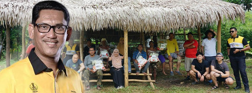 MB Inc Orang Asli assistance project.