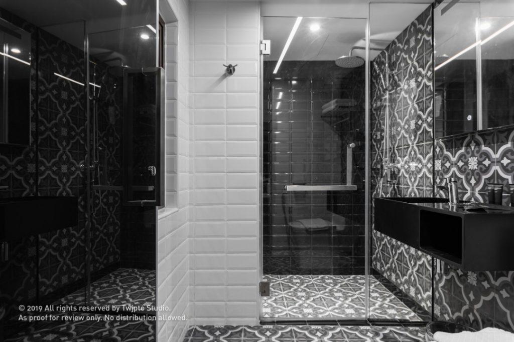 Stylish washrooms