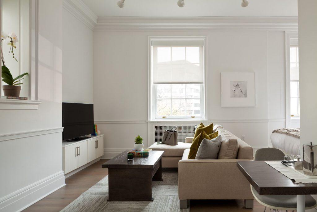 Suite Premier living space